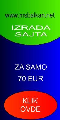 Izrada sajta, web dizajn, web sajt